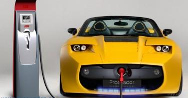 الغازات العادمة وضربية السيارة والسيارة الكهربائية